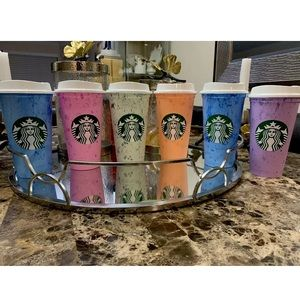 srarbucks Kitchen - Starbucks Coffee Reusable  Hot Cups Variety 6 Cups